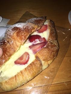 Strawberry Croissant
